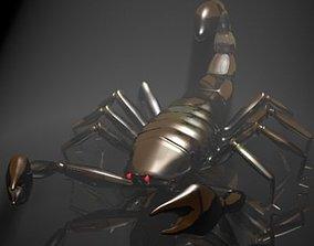 3D asset Scorpion