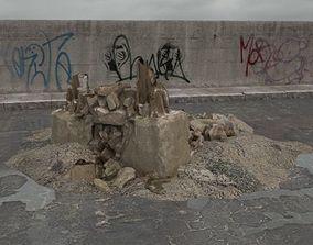 3D model rubble 065 am165