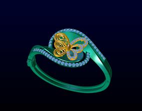 3D print model bracelets DIAMOND JEWELLERY
