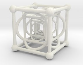 3D printable model Nested Cubes