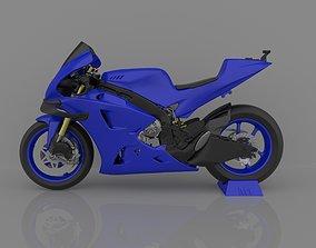 Motorcycle Yamaha YZF-M1 Racing 2020 Ready to Print STL