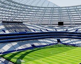 3D model Cosmos Arena - Samara Russia