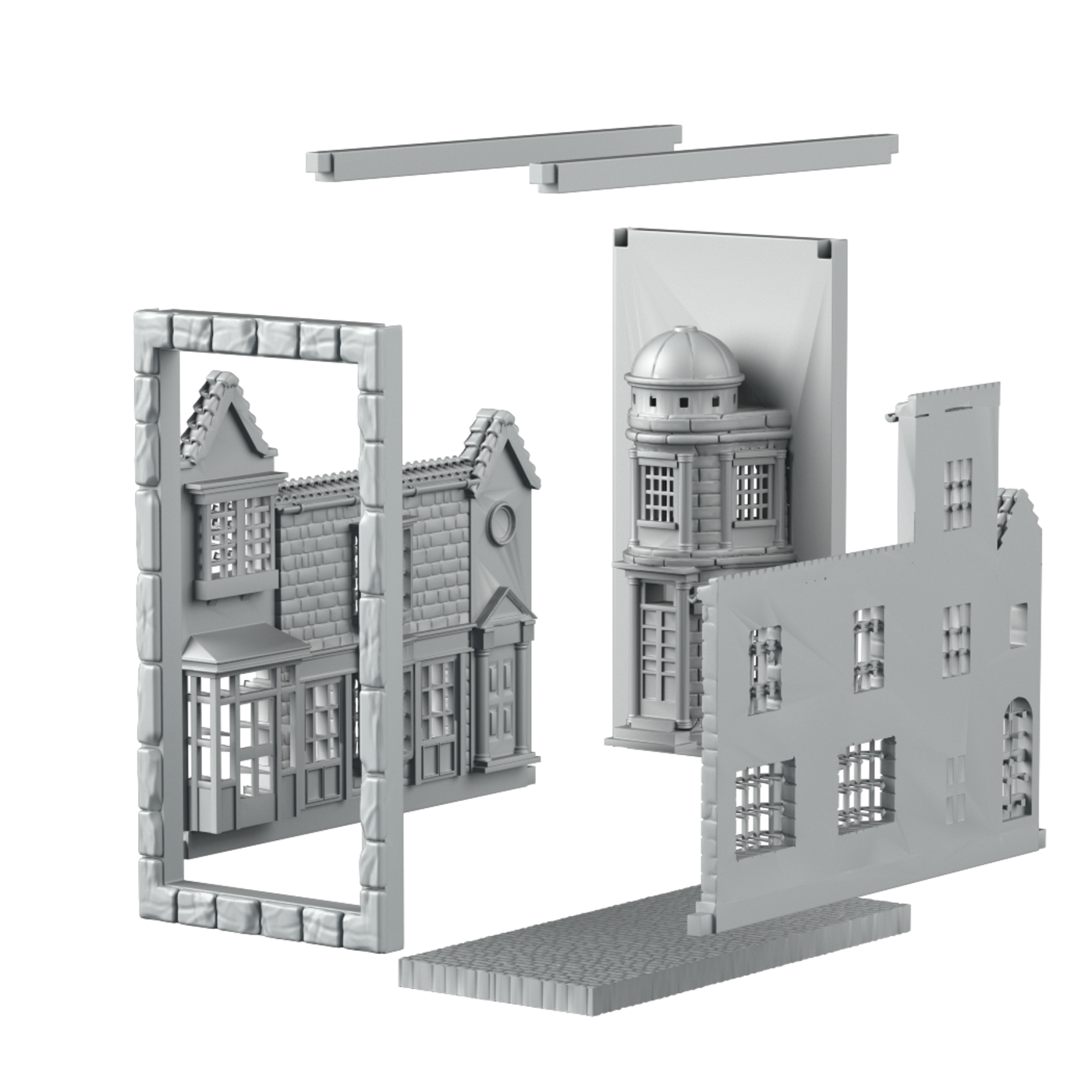 The scenic library, 3d printable