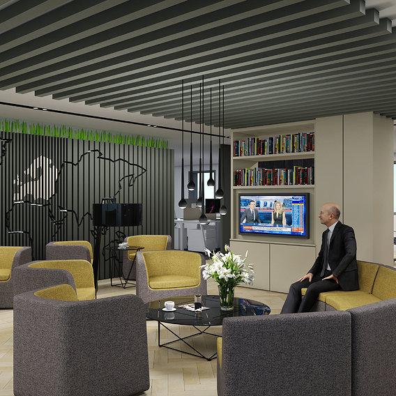 Office Interior Viz