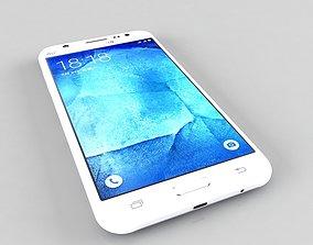 3D 3ds Samsung Galaxy J5 White