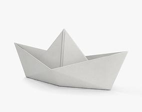 3D folding Paper Boat