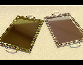 Tray rectangular 3D model