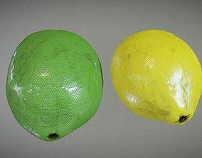 Lime and Lemon 3D model