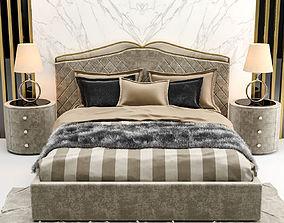 3D model Cantori Valentino Bed