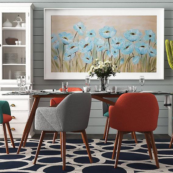 Dining room model 08