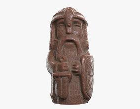 3D asset Perun - the god of thunder