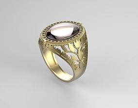 Gentleman Ring Flower side 3D printable model