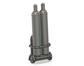 3D print model Gas Cylinder