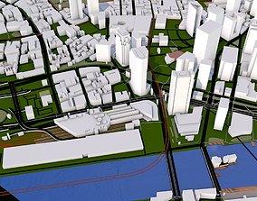 3D asset Boston City