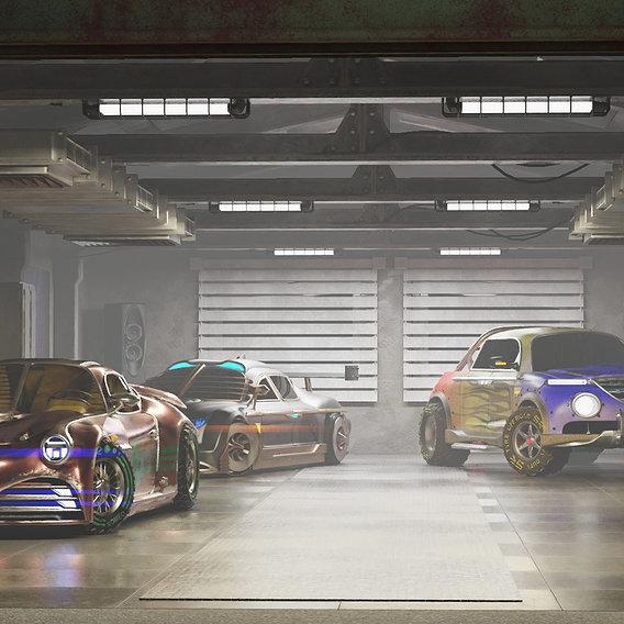 My virtual garage