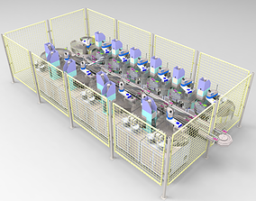 3D Relay automatic assembly line