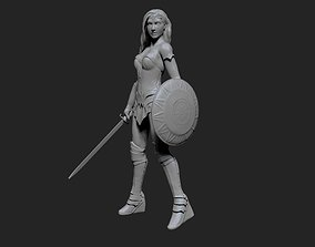 3D printable model Wonder Woman