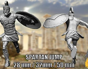 Spartan Jump - 28mm - 35mm - 50mm 3D printable model