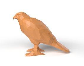Hawk Low Poligonal 3D model