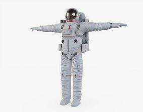 3D model VR / AR ready Astronaut