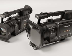 Panasonic AG-HVX200 3D model