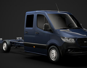 RAM Sprinter Chassis Crew Cab L3 RWD 2020 3D model