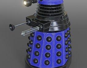 Dalek - New Paradigm variant 3D model rigged