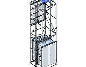 3D model Industrial lift - Vanguard