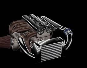 3D I4 Turbo Engine