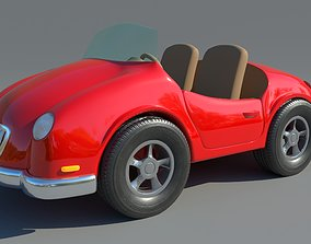 concept 3D model Toy car