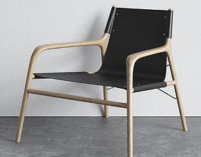 3D model Bolia Soul lounge chair
