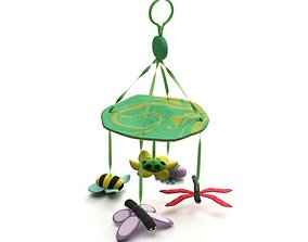 Baby Toy For Hanging Over A Crib 3D