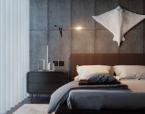 BEDROOM SCENE 3D modern