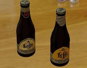 Beer bottle Leffe 25cl 3D model