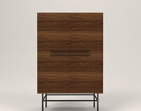 3D model Arimo wood cabinet