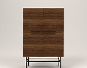 3D model Arimo wood cabinet
