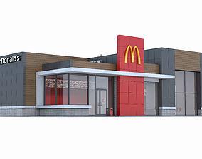 McDonalds restaurant 2 3D