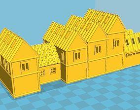 Medieval House 13 3D print model