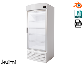 Vertical Fridge 002 3D model