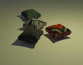 cushion 3D model VR / AR ready