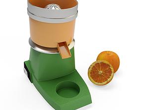 3D model Orange Press Appliance