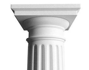 3D model Doric Column