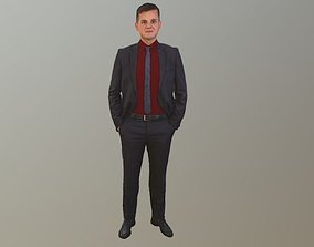 dude No141 - Male Standing 3D model