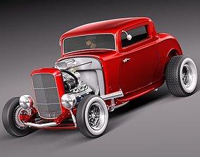 3D model 1932 HotRod Classic