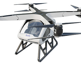 Workhorse Surefly Air Taxi 3D