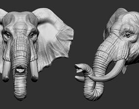 Elephant 3D printable model cartoon-elephant