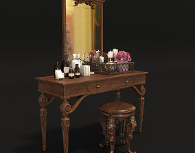 Classic Dressing Table 2 3D model