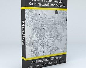 Medina Road Network and Streets 3D model