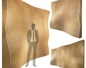 3D Parametric wall 003