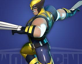 Wolverine 3D printable model